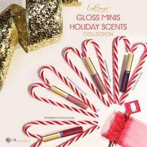 LipSense Holiday Scented Mini Lip Gloss Collection
